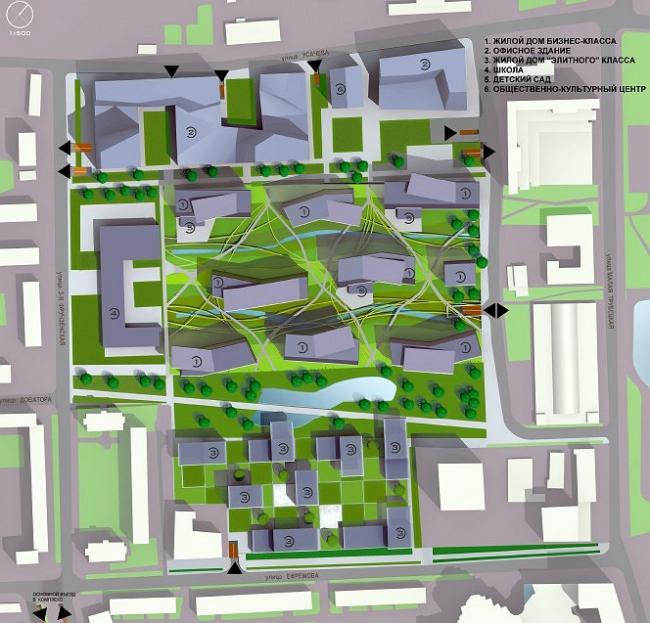 Многофункциональный комплекс Каучук © ABD architects