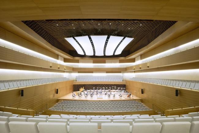 Концертный зал «Рурский музыкальный форум Аннелизе Брост». Фото © Brigida González