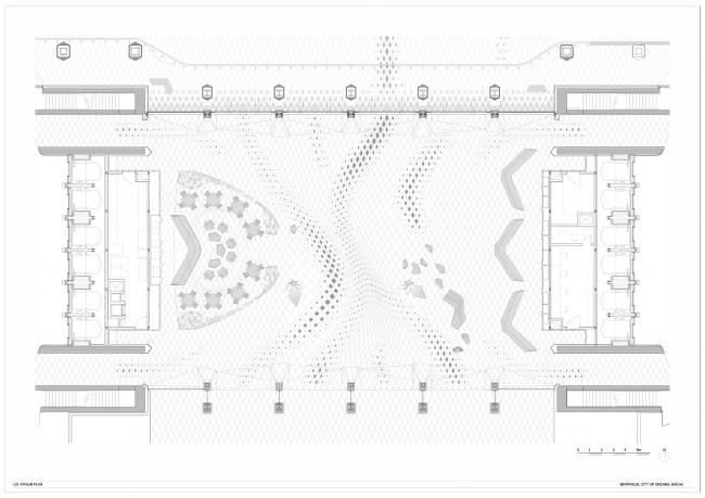 Гостиница Morpheus © Zaha Hadid Architects