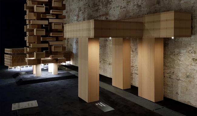 Павильон Люксембурга на биеннале архитектуры в Венеции. Фотография: Ю.Тарабарина, Архи.ру