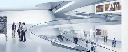 Национальный Музей Те Папа - новое крыло