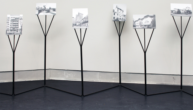 Экспозиция Чино Дзукки в павильоне биеннале, посвященная архитектору Луиджи Качиа Доминиони (1913-2016). Фотография: Ю.Тарабарина, Архи.ру