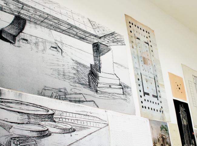 Проект Элизабет Хац, павильон биеннале. Фотография: Ю.Тарабарина, Архи.ру