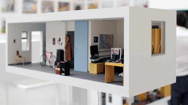 «Звездные апартаменты» Майкла Мальцана, Лос Анджелес, проект павильона биеннале. Фотография: Ю.Тарабарина, Архи.ру