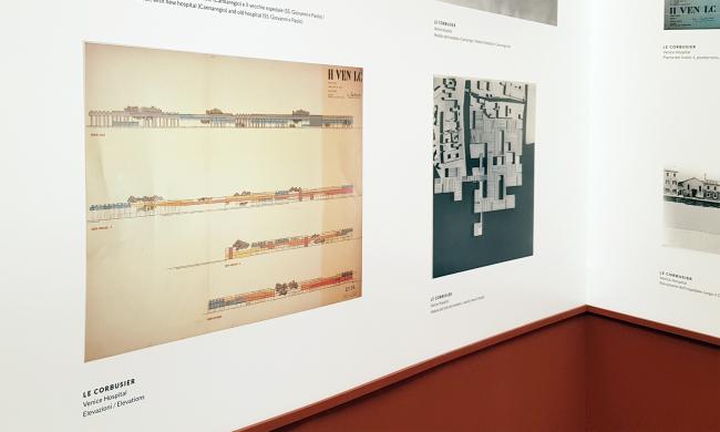 «Свободное пространство на месте», проект американца Роберта Мак Картера в честь четырех проектов, не реализованных в Венеции. Фотография: Ю.Тарабарина, Архи.ру