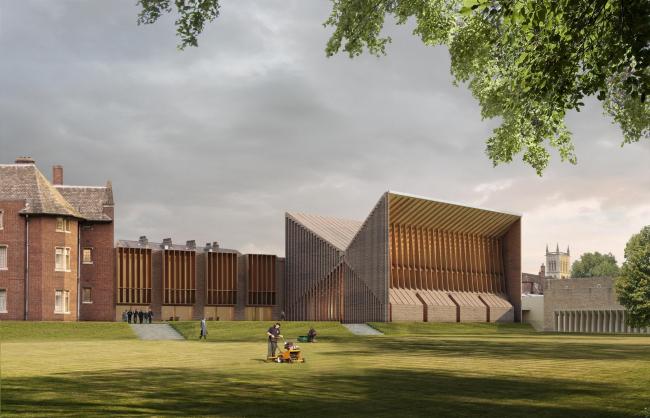 Вторая очередь проекта. Лекционная аудитория © Niall McLaughlin Architects