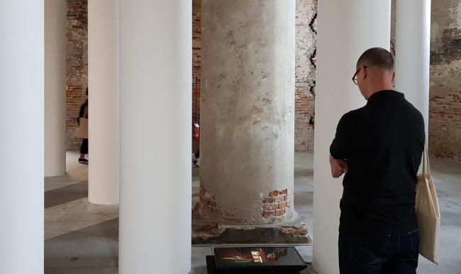 Biennale 2018, Corderi, project by Valerio Olgiati. Photo: J. Tarabarina, archi.ru