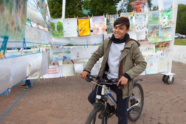 Фестиваль городской культуры «Арт-Овраг 2018». г. Выкса. Фотография: Юлия Абзалтдинова © ART-OVRAG