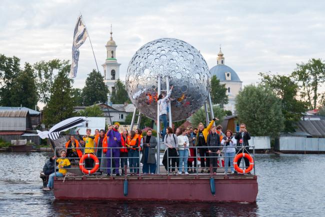 Фестиваль городской культуры «Арт-Овраг 2018». г. Выкса. Фотография: Елена Петухова
