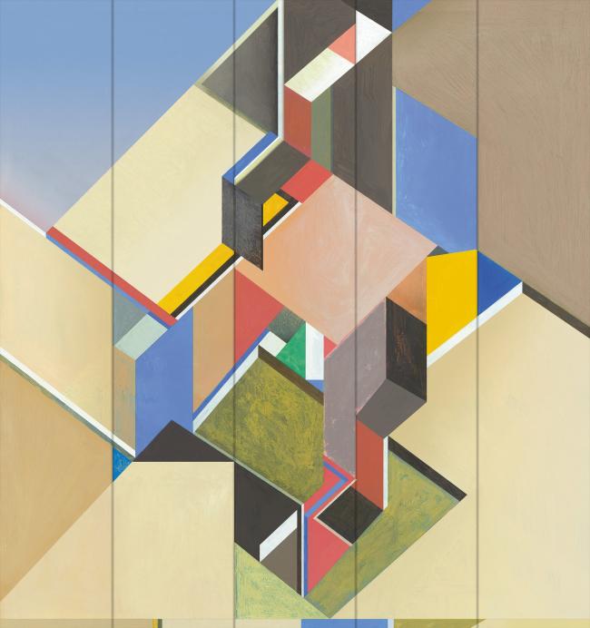 Западный вестибюль «Конструктивизм». Фрагмент © Четвертое измерение
