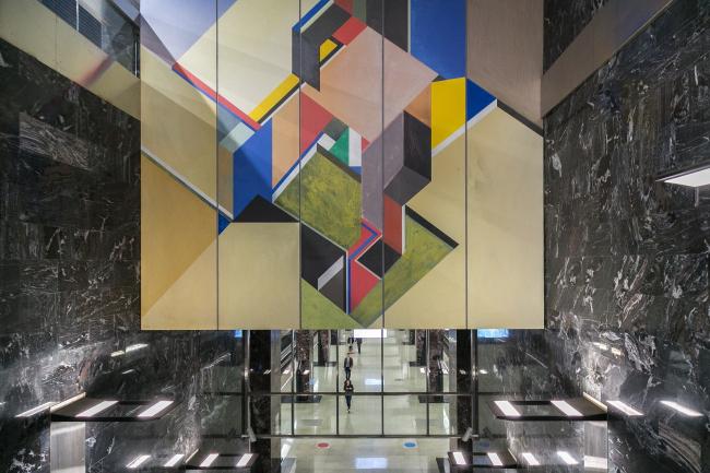 Западный вестибюль «Конструктивизм». Станция «Хорошевская»