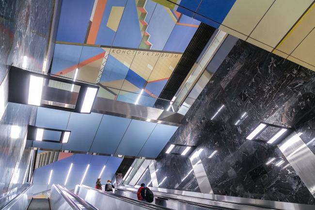 Западный вестибюль «Конструктивизм» © Четвертое измерение