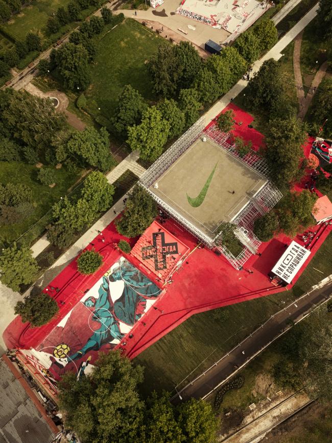 Спортивный центр Nike © КБ «Стрелка» + АБ «Космос»