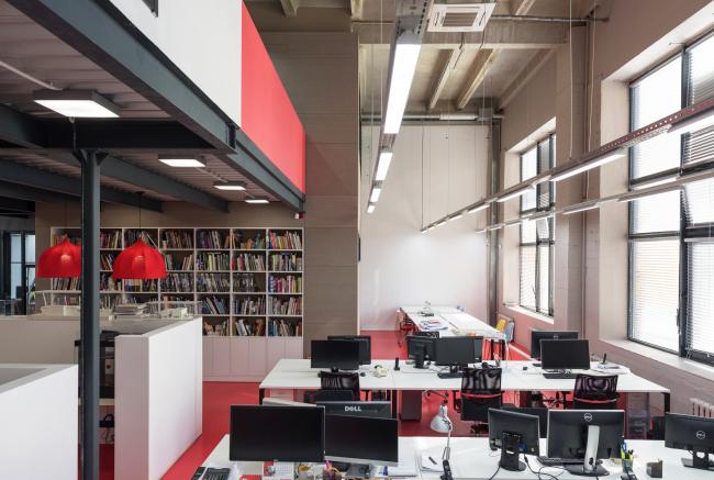 Офис компании ATRIUM. Фотография © Илья Егоркин / ATRIUM