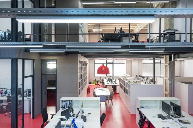 ATRIUM office. Photograph © Ilia Egorkin / ATRIUM