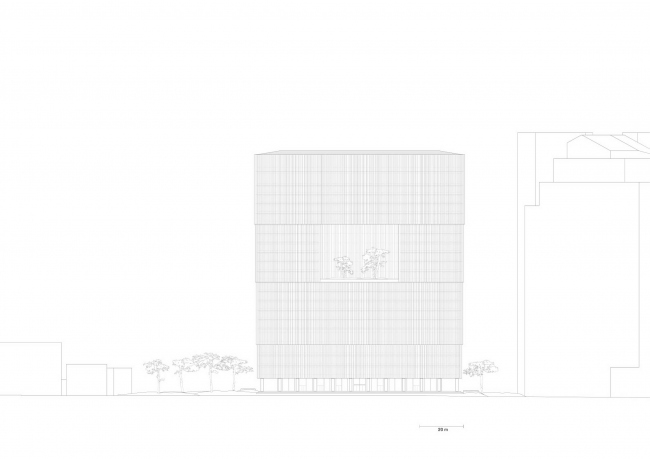 Штаб-квартира Amorepacific © David Chipperfield Architects