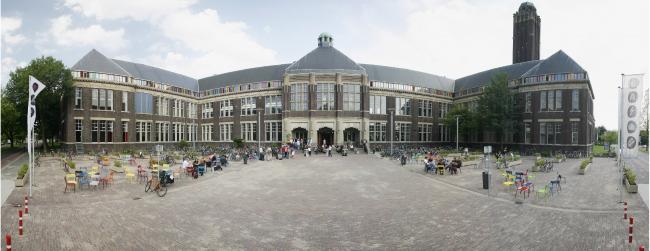 TU Delft. Проект: BK City. Проект восстановления после пожара здания 19 века факультета Архитектуры технического университета  города Делфта. © Marc Faasse