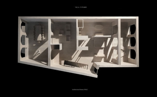 «17 историй». Апарт-отель с подземной автостоянкой © WALL