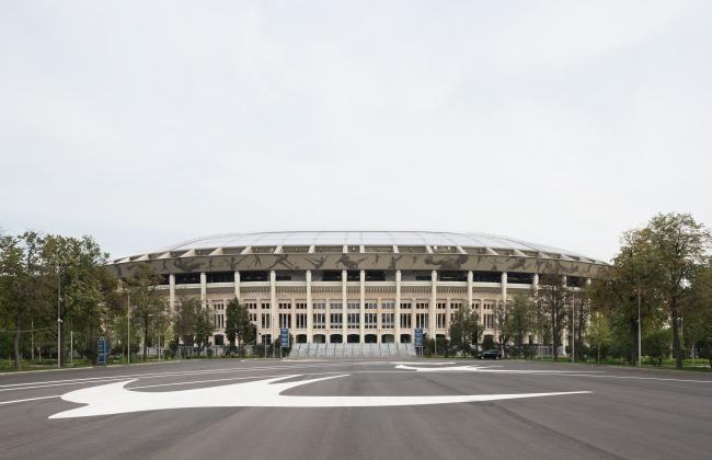 Большая спортивная арена «Лужники», реконструкция 2015-2018. SPEECH. Фотография © Илья Иванов
