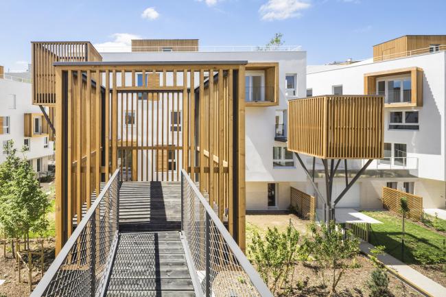 Жилой комплекс в Роменвиле. Фото © Sergio Grazia