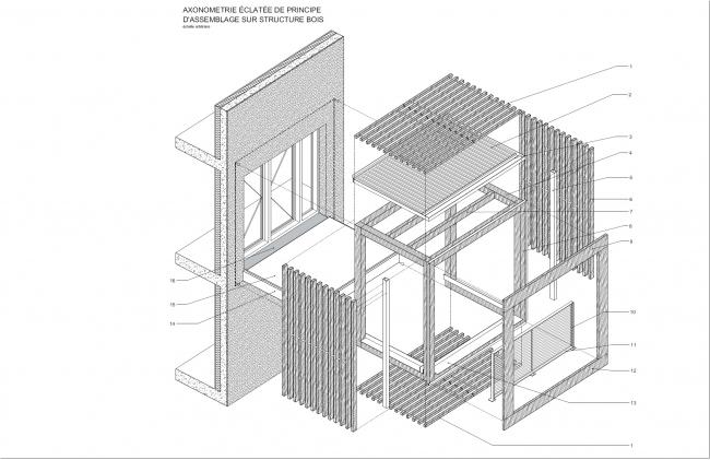 Жилой комплекс в Роменвиле © Brenac & Gonzalez & Associés
