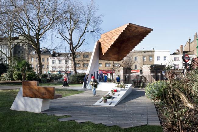 Мемориал «Бетнал Грин», Лондон.  Arboreal Architecture. Фотография © Marcela Spadaro