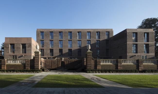 Студенческое общежитие Общежитие Чэдвик-холл, Лондон.  Henley Halebrown. Фотография © Nick Kane