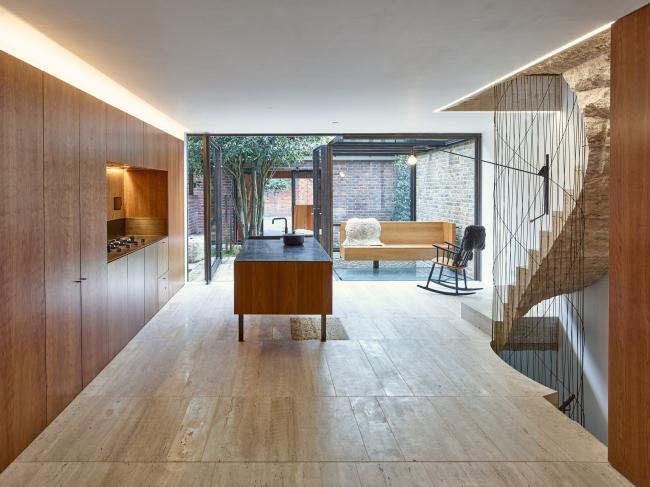 Дом Flexible House, Лондон.  Amin Taha + Groupwork. Фотография © Tim Soar