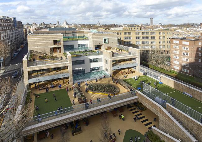 Начальная школа Мальборо, Лондон. Фотография © Paul Riddle