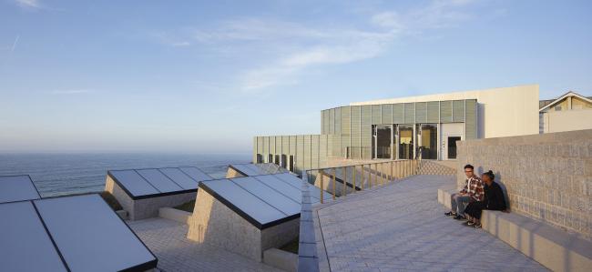Новое здание галерей Тейт в Сент-Айвс. Jamie Fobert Architects + Evans & Shalev. Фотография © Nick Hufton