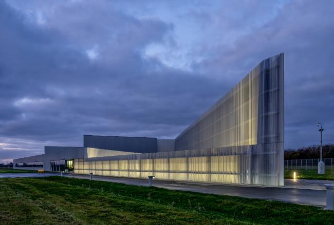 Управление по выводу из эксплуатации ядерных объектов и архив Кейтнесса, Уик.  Reiach and Hall Architects. Фотография © Broad Daylight Ltd