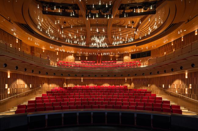 Королевская академия музыки: театр Сьюзи Сейнсбери, Лондон. Фотография © Adam Scott