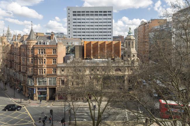 Театр Шефтсбери, Лондон. Bennetts Associates. Фотография © Peter Cook