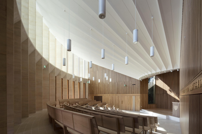 Центр султана Назрина Шаха, Вустер-колледж, Оксфорд. Niall McLaughlin Architects. Фотография © Nick Kane