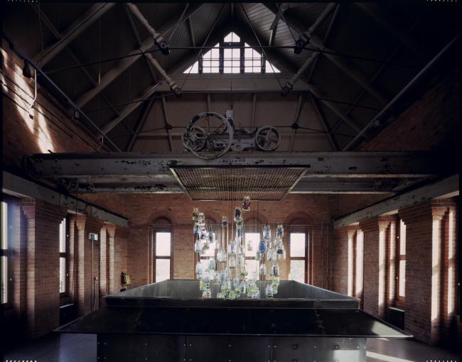 Лесопарковая зона Уолтемстоу-ветландс, Лондон. На фото – посетительский центр в исторической водозаборной станции. Witherford Watson Mann Architects + Kinnear Landscape Architects. Фотография © Heini Schneebeli