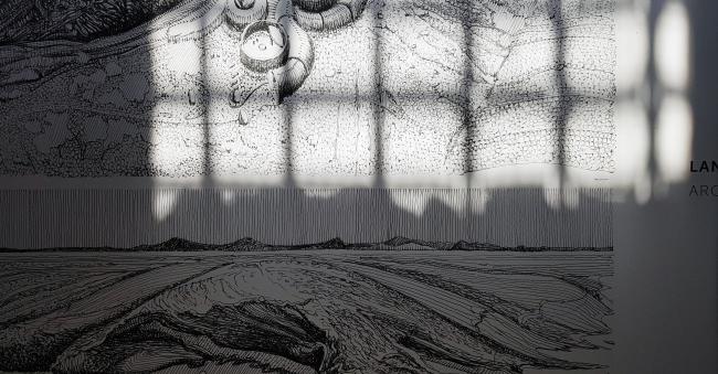The curators' exposition in Arsenale. Photograph: Julia Tarabarina, Archi.ru