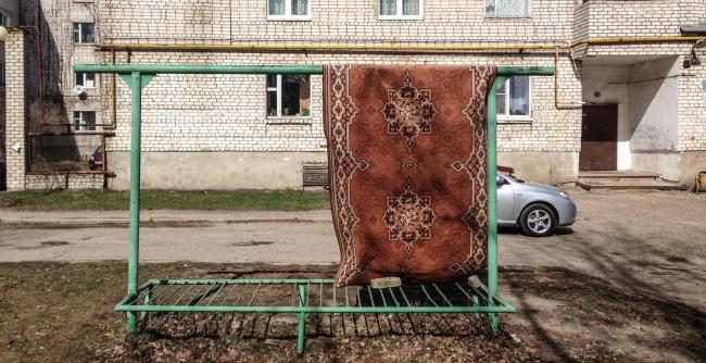 Исследование и города Выкса. Культурный код – выбивалка для ковров. Первый этап программы. 2017 Фотография: Антон Акимов