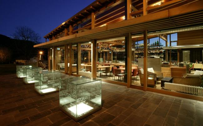 Отель Milano в Кастьоне-делла-Презолана. Фото предоставлено Mario Bonicelli Architetto and Partners