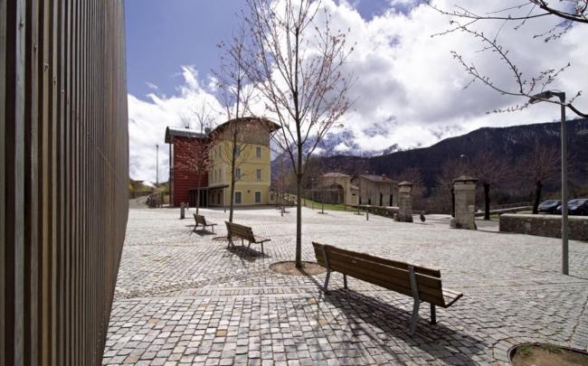 Школьный кампус в Вильминоре-ди-Скальве. Фото предоставлено Mario Bonicelli Architetto and Partners