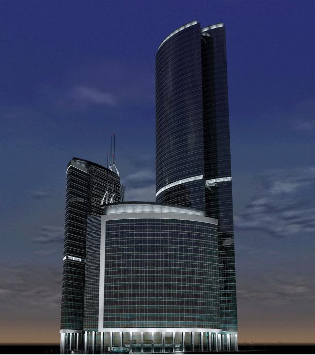 Башня на набережной, ММДЦ Москва-Сити, участок 10