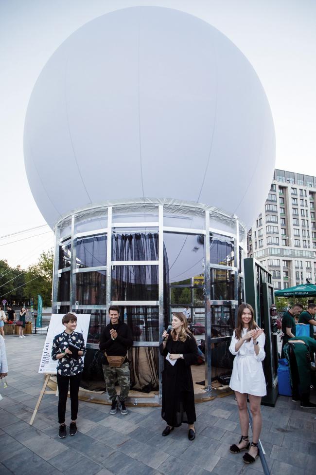 Павильон ШАР. 2018 © AA Visiting School Moscow