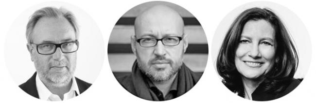 Архитекторы Олег Шапиро, Юрий Григорян, Мэри Джонс. Фотографии предоставлены пресс-службой Moscow Urban Forum