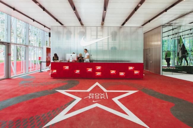 Спортивный центр Nike © КБ «Стрелка» + АБ «Космос». Фотография предоставлена КБ «Стрелка»