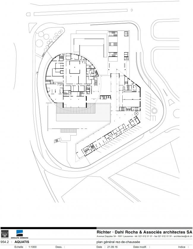 Аквариум Aquatis © Richter Dahl Rocha & Associés architectes SA | www.rdr.ch