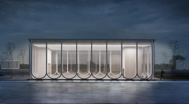 Концепция оформления станции «Кленовый бульвар» © IND Architects