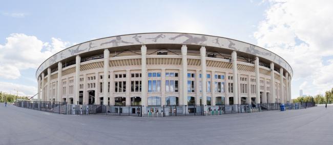 Большая спортивная арена «Лужники», реконструкция 2015-2018. Фотография Дмитрий Чистопрудов © SPEECH