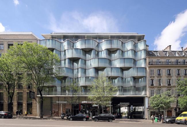 Отель Renaissance Marriot в Париже. Фото предоставлено Praemium Imperiale