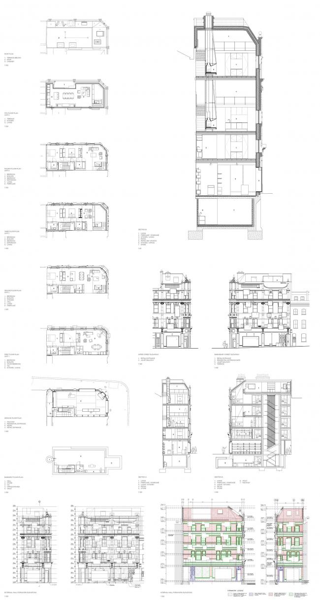 Многоквартирный дом с магазином 168 Upper Street © Amin Taha + Groupwork