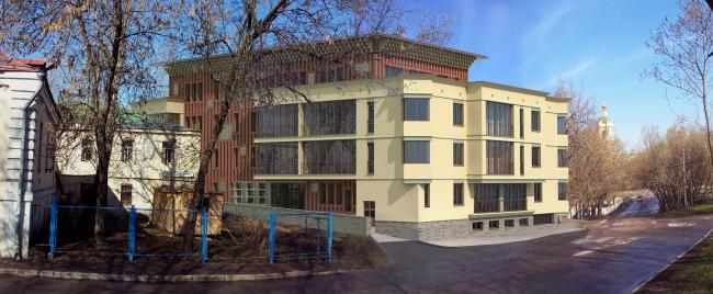 Административное здание с апартаментами и подземной автостоянкой «Крутицкое подворье»