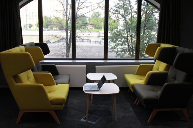 Центр цифрового лидерства SAP. Интерьеры: UNK project